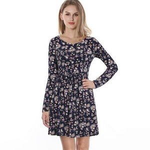 Long-Sleeve-Black-Retro-Floral-Dress