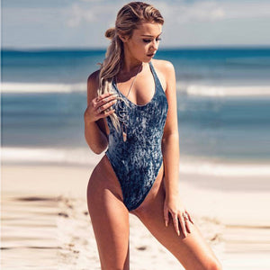 Exile Retro Velvet One Piece