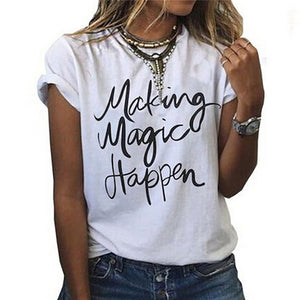 """Making Magic Happen"""