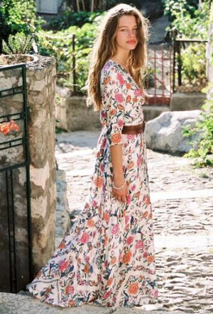 chic bohemia summer dress