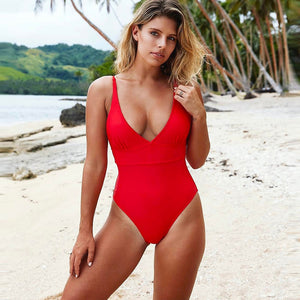 Exile Monokini Backless One Piece Bodysuit