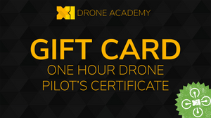 One Hour Drone Pilot's Certificate Course Gift Card