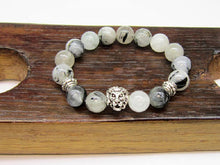 Rutilated Quartz Lion Bracelet Rutilated Quartz Allign Chakra Bracelet Rutilated Quartz Yoga - Healing Atlas