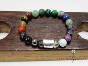 Therapy Bracelet Healing Chakra Bracelet Multi-Gemstone Therapeutic Bracelet Anxiety Relief Therapy - Healing Atlas
