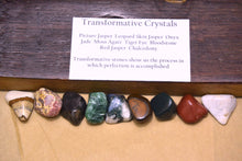 Transformative Crystal Gemstone Kit Tranformative Crystals Kit for Grids Transformative Crystal Stones Set Healing Crystals & Gemstones Set - Healing Atlas