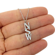 Personalized Name Hanging Necklace & Pendants For Women Customized Letter Jewelry Stainless Steel Gold - Healing Atlas
