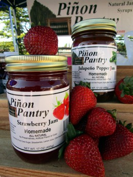 Pinon Pantry Jam at the Farmers Market