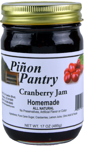 Cranberry Jam from Pinon Pantry