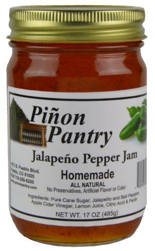 Jalapeno Pepper Jam from Pinon Pantry