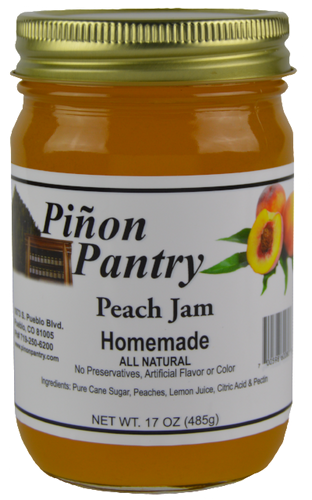 Peach Jam from Pinon Pantry