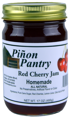 Red Cherry Jam from Pinon Pantry