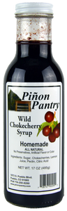 Wild Chokecherry Syrup from Pinon Pantry
