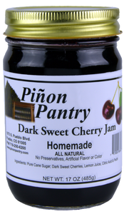 Dark Sweet Cherry Jam from Pinon Pantry