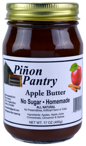 Sugar free apple butter from Pinon Pantry