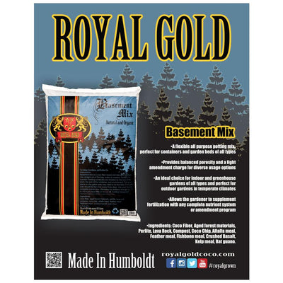 Equipment Processing - Royal Gold Soil, BASEMENT MIX