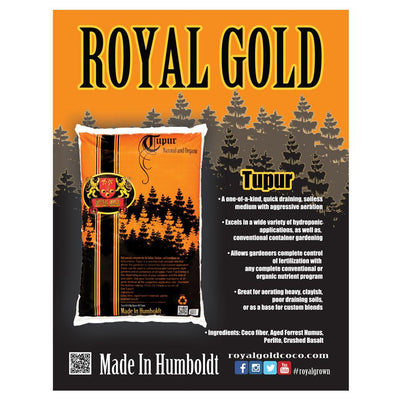 Equipment Processing - Royal Gold Soil, TUPUR