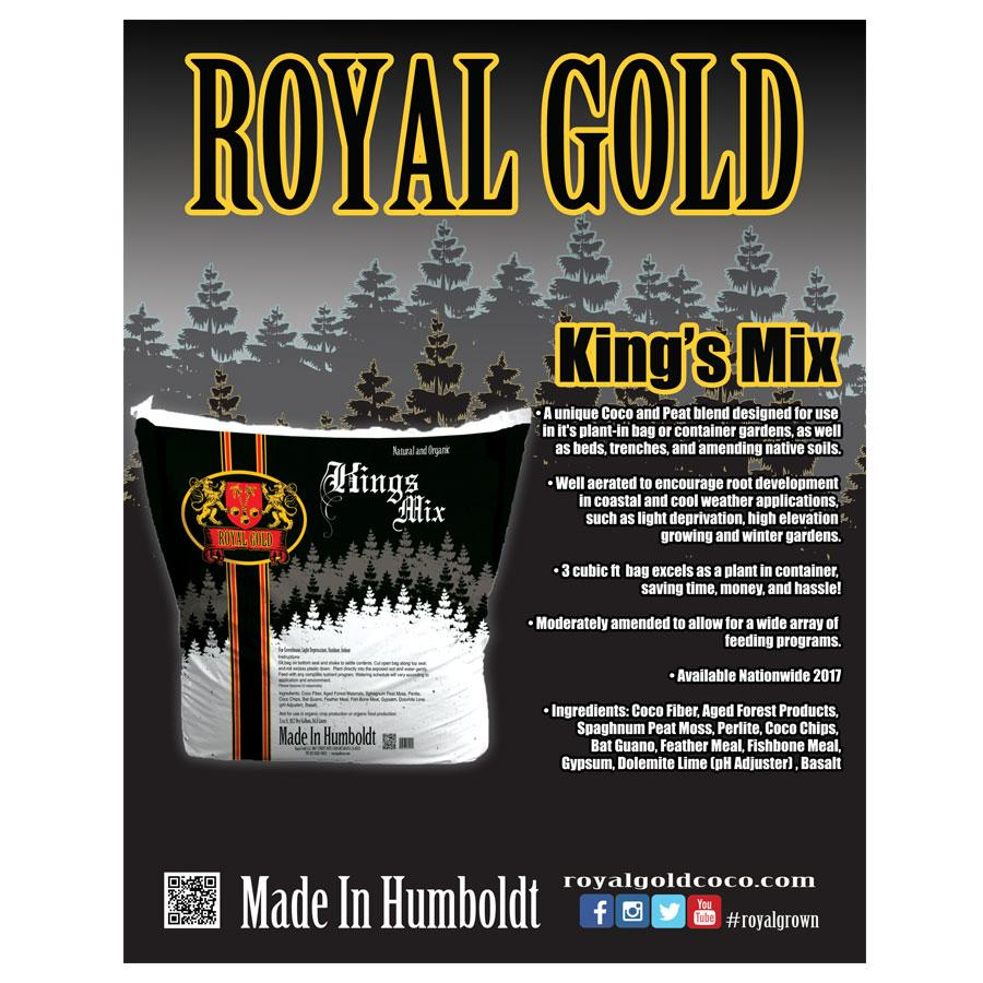 Royal Gold Soils; KINGS MIX - Innovative Sourcing - Premium ...
