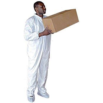 Farm Supplies - Coveralls 'Clean Room' Spun Poly (25 Count)