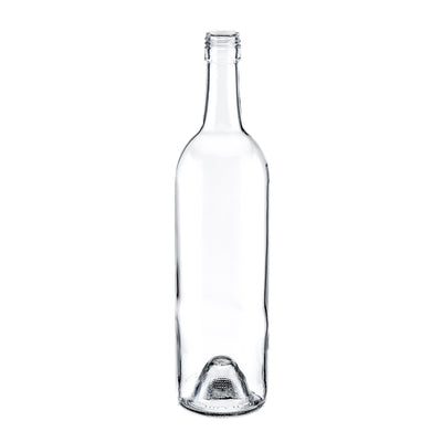 Wine / Beer / Spirit Bottles - 750ml Wine Bottle Claret 5123 FL Screwtop (12)