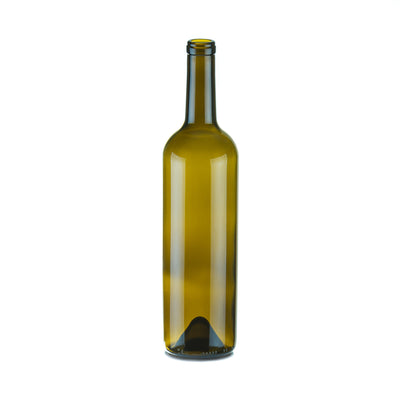 Wine / Beer / Spirit Bottles - 750ml Wine Bottle Claret 6291 Blaye Tall Cork (12)