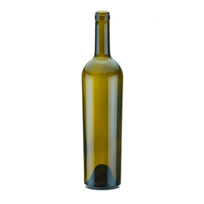 Wine / Beer / Spirit Bottles - 750ml Wine Bottle Claret 7151 AG Tall Taper Cork (12)