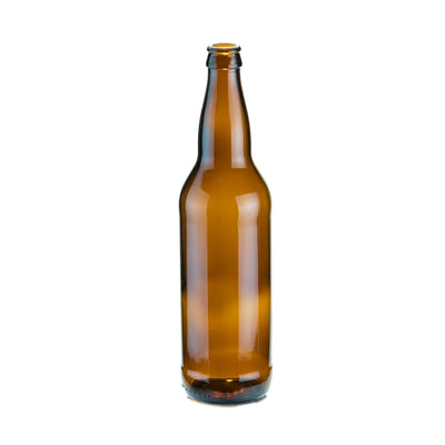 Wine / Beer / Spirit Bottles - BEER Bottle 22oz O-I Amber (24pcs)