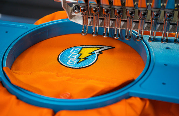 Embroidery at Border Lifting & Safety Albury Wodonga