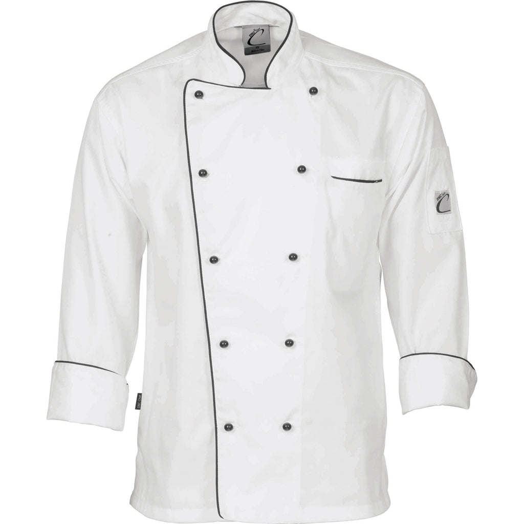 1112 - Classic Chef Jacket - Long Sleeve
