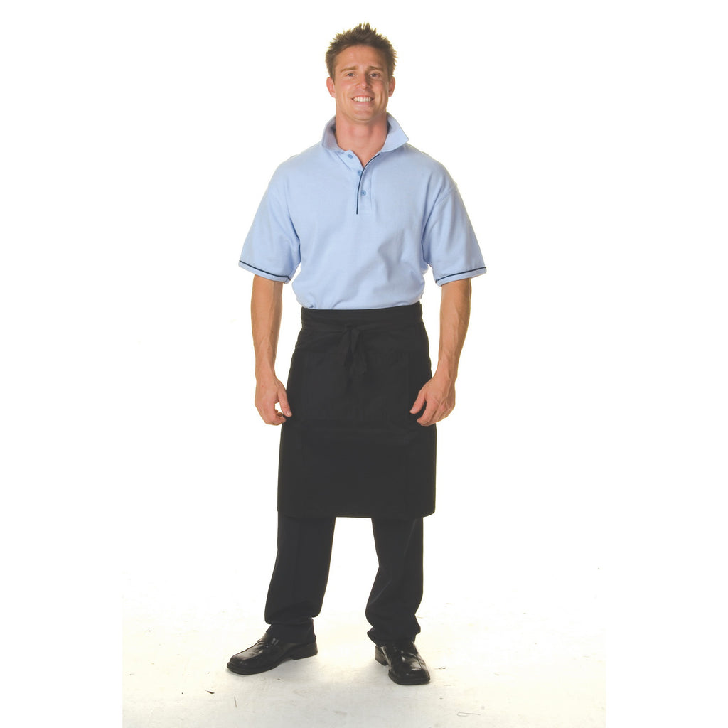 2301 - Cotton Drill 3/4 Apron With Pocket