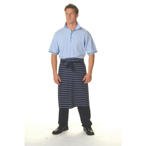 Pinstripe 3/4 Apron - No Pocket