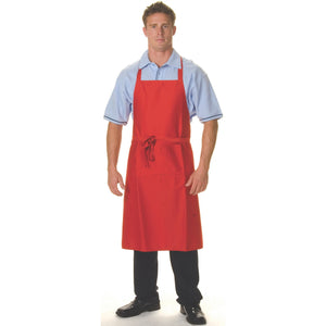 P/C Full Bib Apron With Pocket