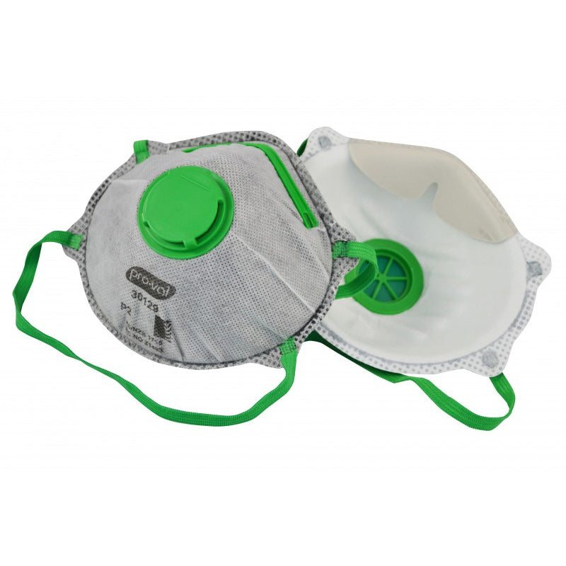 P2 Disposable Respirator/Face Mask with Valve & Carbon Filter