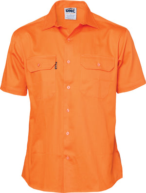 3201 - Cotton Drill Work Shirt - Short Sleeve
