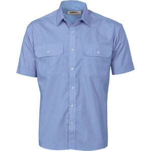 Polyester Cotton Work Shirt - Short Sleeve