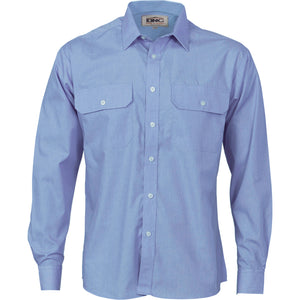 3212 - Polyester Cotton Work Shirt - Long Sleeve