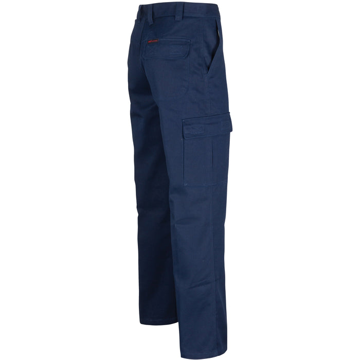 Middle Weight Cotton Double Slant Cargo Pants
