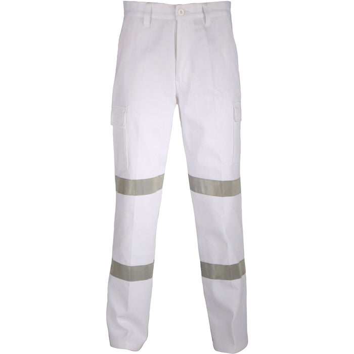 3361 - Double Hoops Taped Cargo Pants