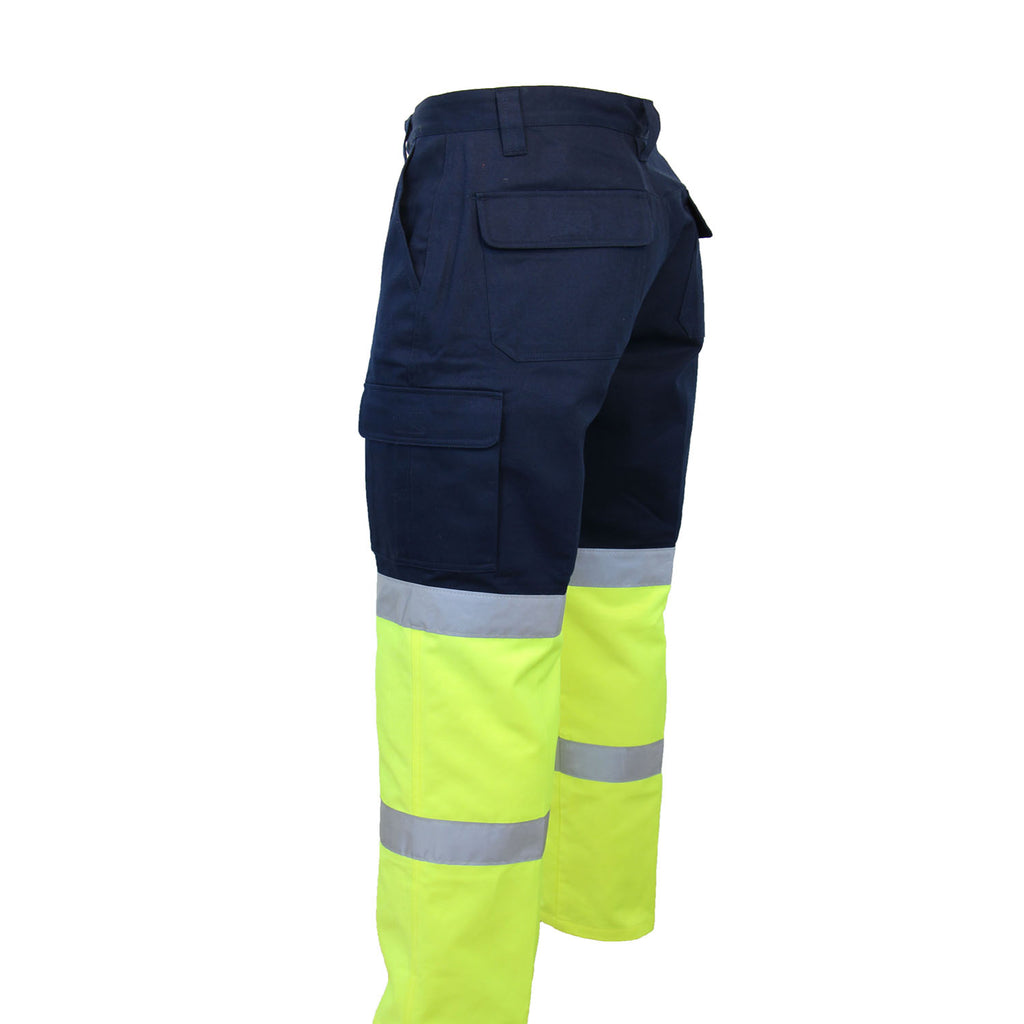 3362 - 2Tone Biomotion Taped Cargo Pants