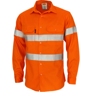 3405 - Patron Saint Flame Retardant ARC Rated Taped Shirt with 3M F/R Tape - L/S