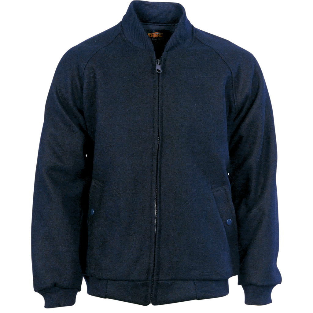 Bluey Jacket with Ribbing Collar & Cuffs