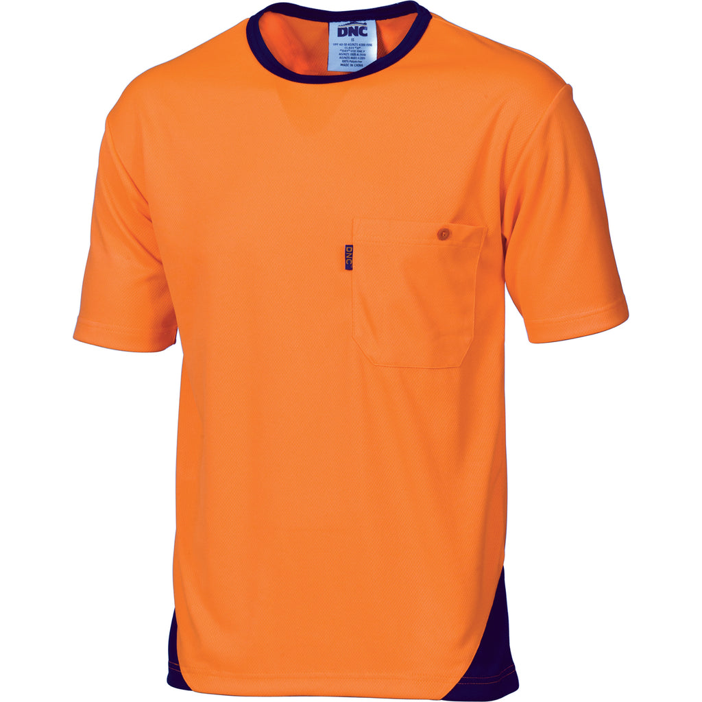 3711 - Hi Vis Cool-Breathe Tee - short sleeve
