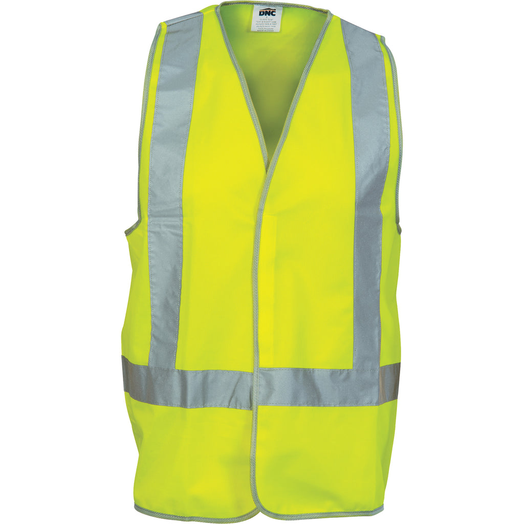 Day/Night Safety Vests with H-pattern