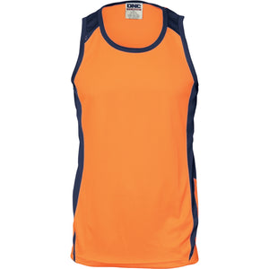 3842 - Cool Breathe Action Singlet
