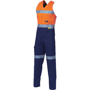 3857 - Hi Vis Cotton Action Back with 3M R/T