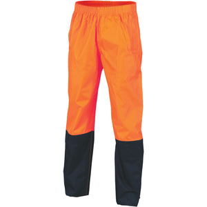 HiVis Two Tone Light weight Rain pants