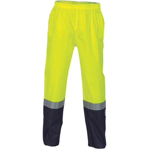 3880 - Hi Vis Two Tone Light weight Rain pants with 3M R/Tape
