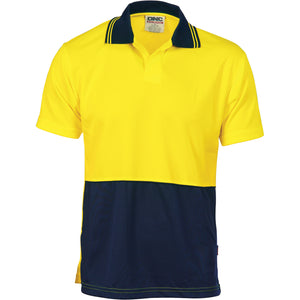 3903 - Hi Vis Two Tone Food Industry Polo - Short Sleeve