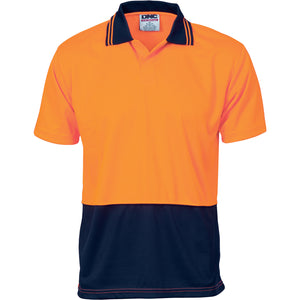 HiVis Two Tone Food Industry Polo - Short Sleeve