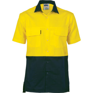 3937 - Hi Vis 3 Way Cool-Breeze Cotton Shirt - short sleeve