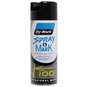 40013501 - Spray & Mark Black 350g